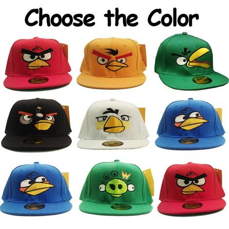 Angry-Birds-Hat-Snapback-Cap