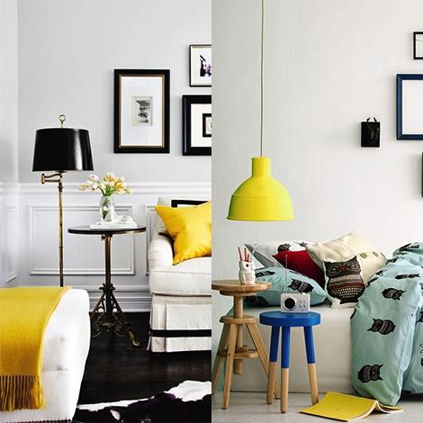 żółte Dodatki Do Mieszkania Dailystylepl Kobieca Porcja