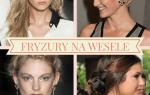 Dzięki nam dowiesz się jakie fryzury na wesele są w tym sezonie najmodniejsze.