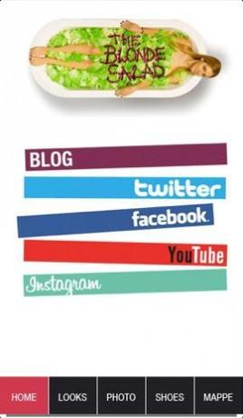 8 blonde salad